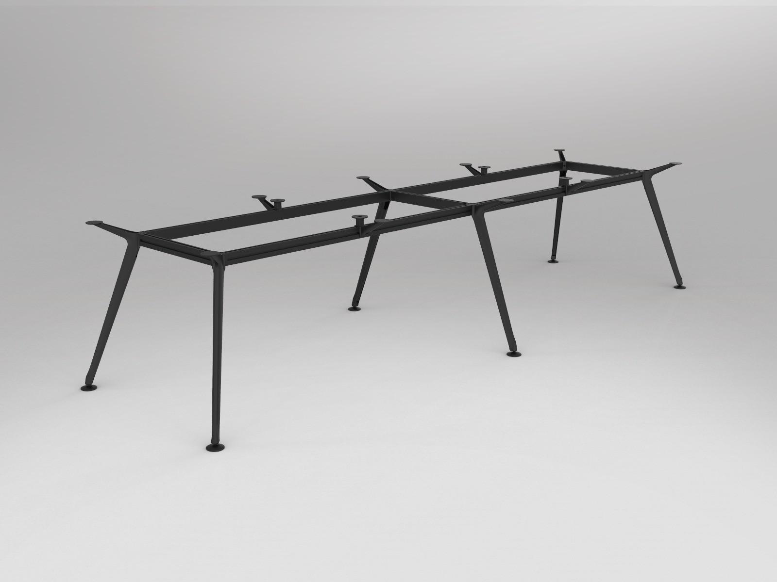 OL Team Meeting Boardroom Table Frame 6 Legs Suite Table Top