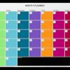 VC Naga Coloured Month Planner