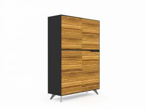 GP Novara Four Door Cabinet