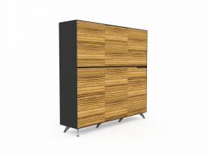 GP Novara Six Door Cabinet