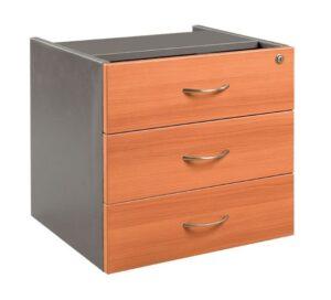 GP OMsystem Commercial Office Fix Desk Pedestal 3 Drawers