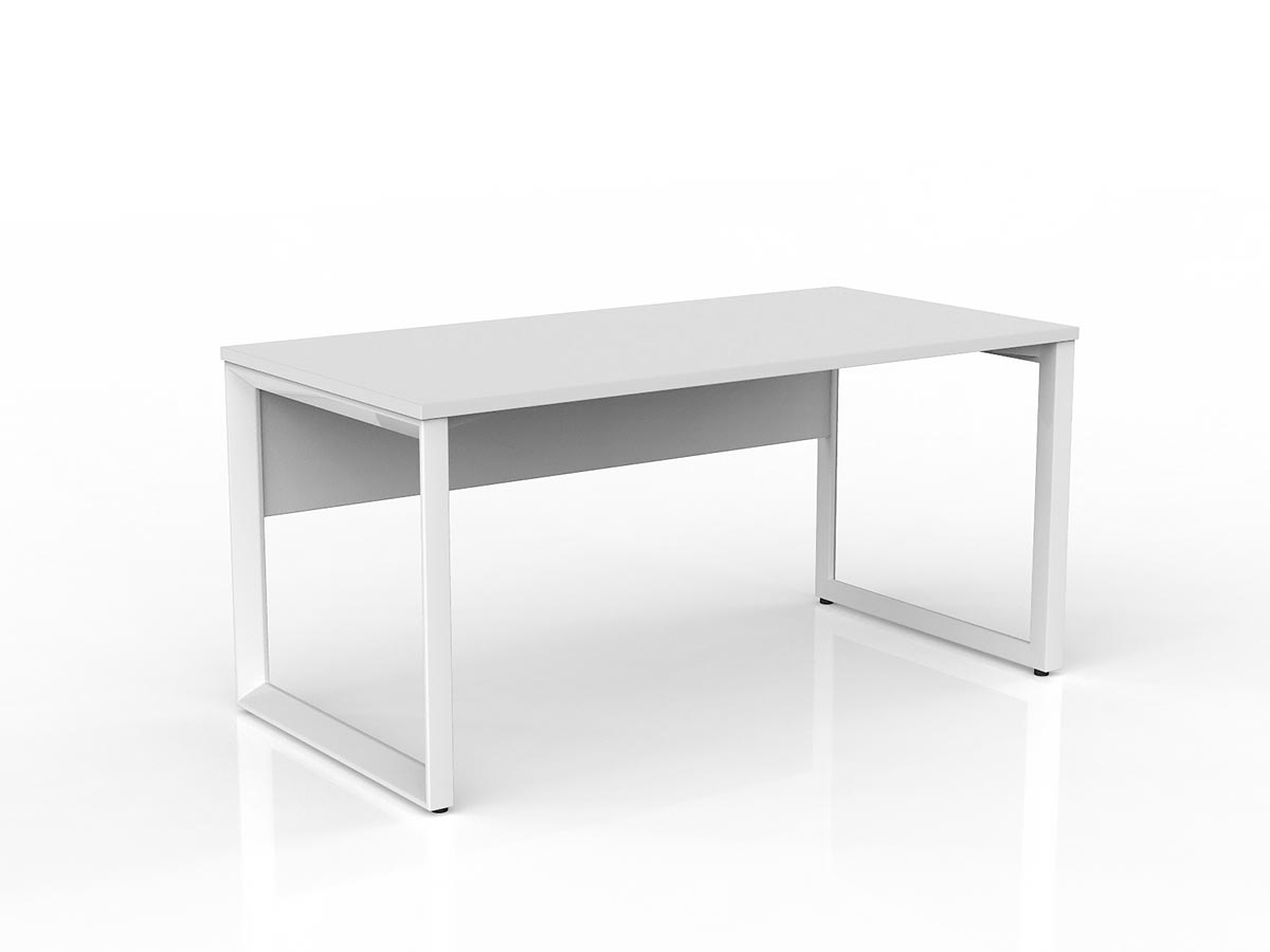 OL Anvil Straight Desk with Modesty