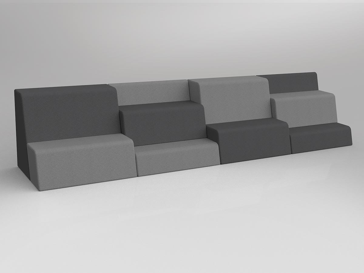 OL Motion Grandstand Example 1 Tiered Seating
