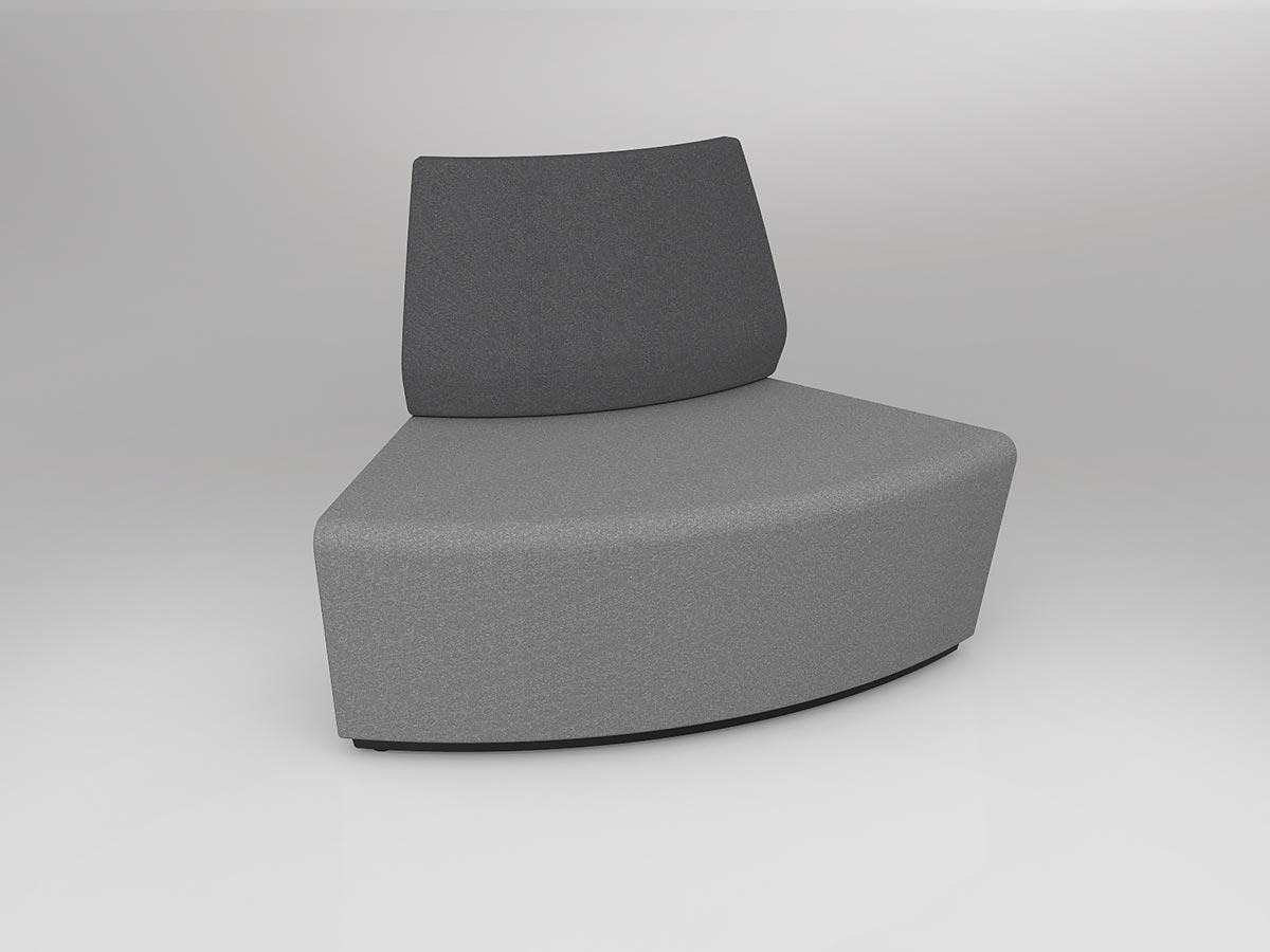 OL Motion Loop Curved 60° Inner Backrest