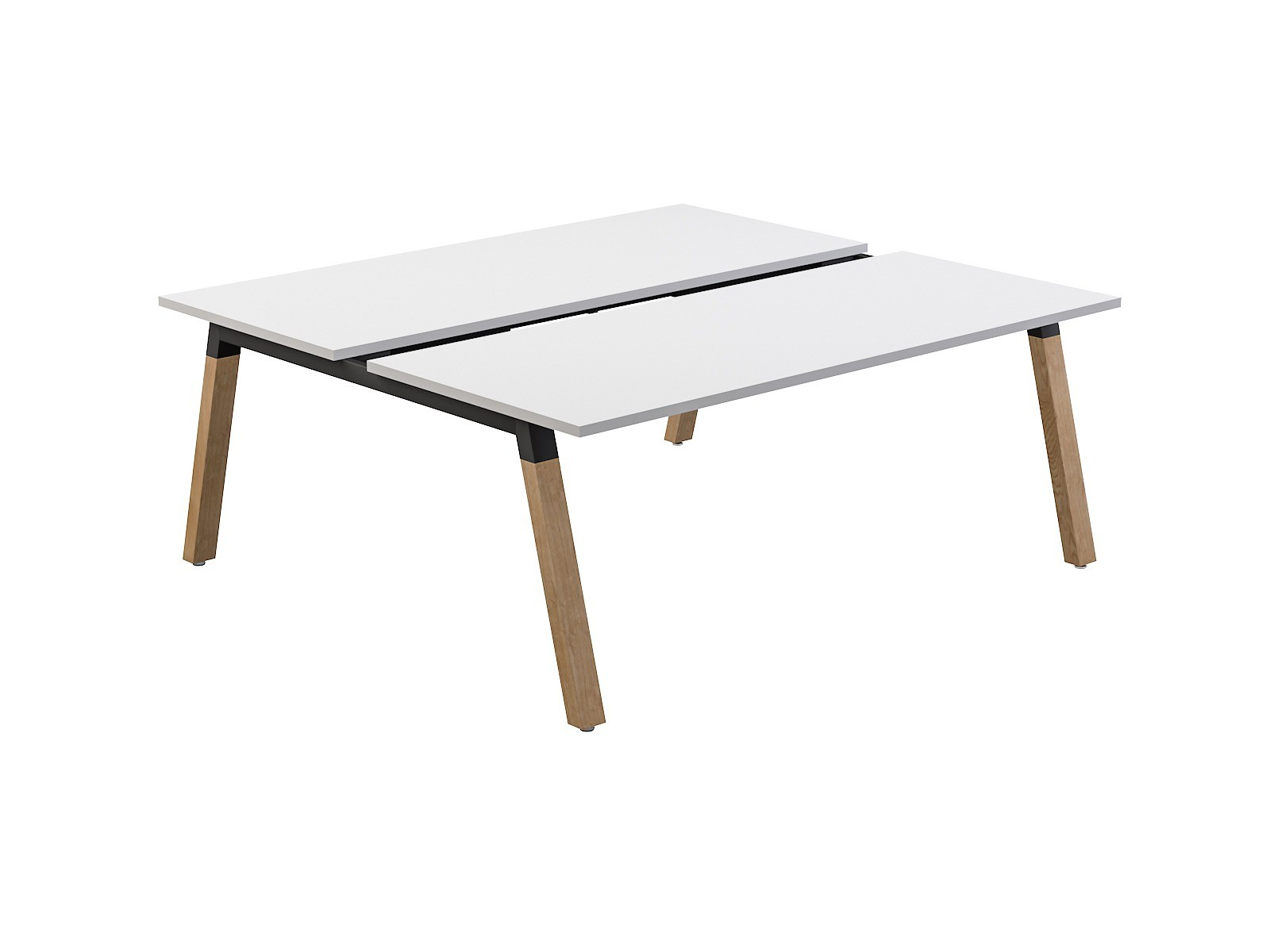 OL Plantation 2 Users Double – Sided Desk