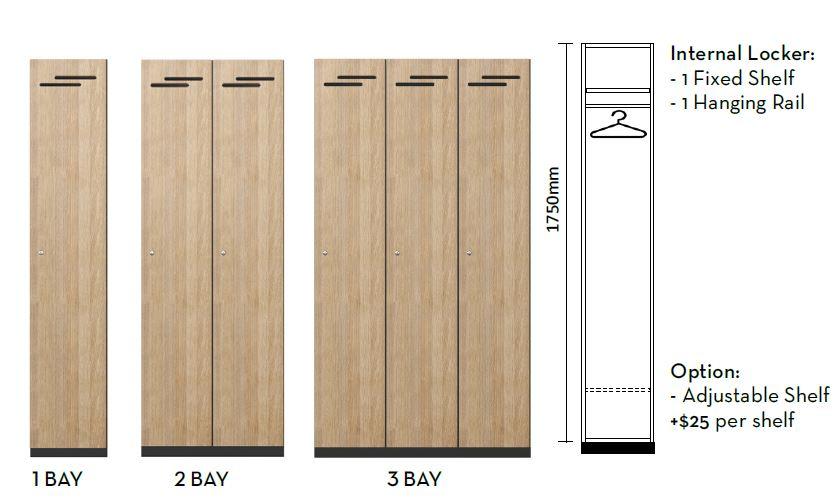 DD 1 Door Lockers