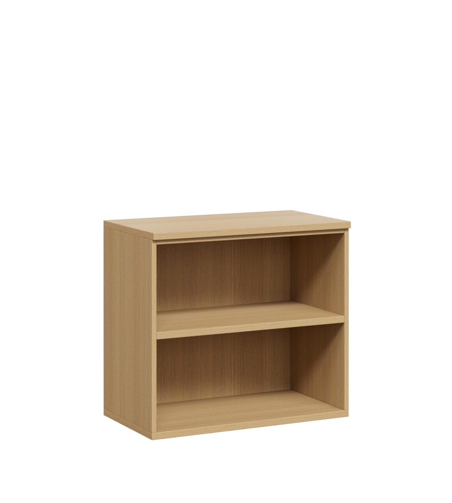 DD Desk Height Storage With Top Open Bookcase